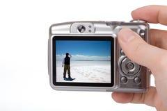 Macchina fotografica di Digitahi Immagine Stock
