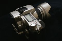 Macchina fotografica di Digitahi Immagini Stock