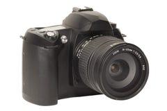Macchina fotografica di Digitahi SLR Immagine Stock