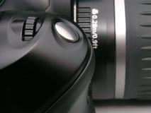 Macchina fotografica di DSLR Immagini Stock Libere da Diritti