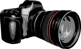 Macchina fotografica di DSLR. fotografie stock libere da diritti