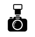 Macchina fotografica di DSLR Fotografie Stock Libere da Diritti