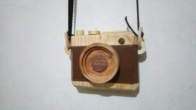 Macchina fotografica di legno Immagine Stock Libera da Diritti