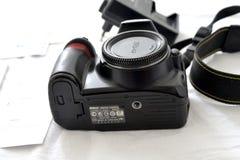Macchina fotografica di Nikon d3100 Immagine Stock