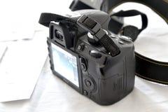 Macchina fotografica di Nikon d3100 Fotografia Stock