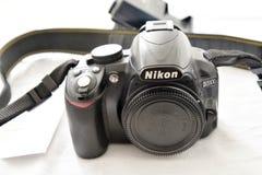 Macchina fotografica di Nikon d3100 Fotografie Stock