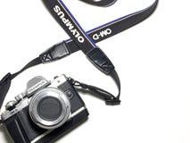 Macchina fotografica di Olympus Fotografie Stock Libere da Diritti