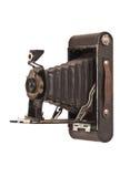 Macchina fotografica di piegatura dell'annata Immagine Stock Libera da Diritti