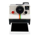 Macchina fotografica di polaroid Fotografie Stock Libere da Diritti