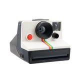Macchina fotografica di polaroid fotografie stock