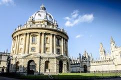 Macchina fotografica di Radcliffe all'università di Oxford Immagini Stock Libere da Diritti