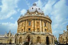Macchina fotografica di Radcliffe, biblioteca di Bodleian, università di Oxford, Oxford, E immagine stock