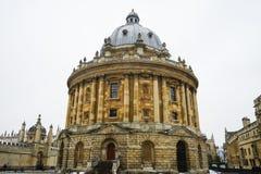 Macchina fotografica di Radcliffe, biblioteca di Bodleian, università di Oxford, Oxford, E fotografie stock libere da diritti