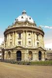 Macchina fotografica di Radcliffe, libreria di Bodleian, Oxford Fotografia Stock