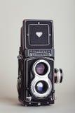 Macchina fotografica di Rolleiflex (Tessar) Fotografia Stock Libera da Diritti