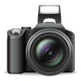 Macchina fotografica di SLR illustrazione vettoriale