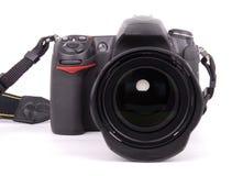 Macchina fotografica di SLR Fotografia Stock