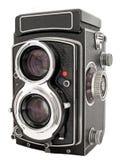 Macchina fotografica di TLR Immagine Stock