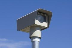 Macchina fotografica di velocità di traffico Immagini Stock Libere da Diritti
