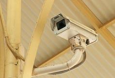 Macchina fotografica di videosorveglianza di sicurezza del CCTV Fotografie Stock Libere da Diritti