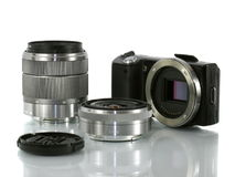 Macchina fotografica digitale Immagine Stock