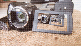 Macchina fotografica digitale Immagini Stock