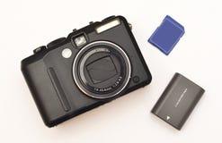 Macchina fotografica digitale compatta Fotografie Stock