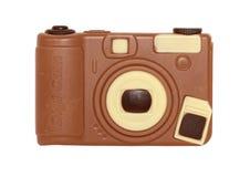 Macchina fotografica digitale del cioccolato Fotografie Stock Libere da Diritti