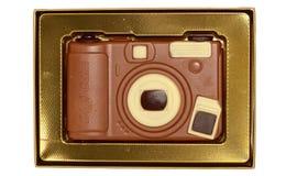 Macchina fotografica digitale del cioccolato avvolta regalo Immagini Stock