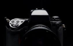 Macchina fotografica digitale professionale Fotografia Stock Libera da Diritti