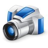 Macchina fotografica digitale professionale della foto Immagini Stock Libere da Diritti