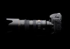 Macchina fotografica digitale professionale della foto Immagini Stock