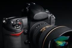Macchina fotografica digitale professionale della foto Fotografie Stock