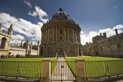 Macchina fotografica famosa di Oxford Radcliffe Fotografia Stock Libera da Diritti