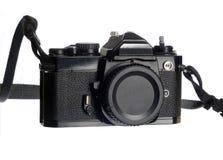 Macchina fotografica meccanica di SLR Immagini Stock