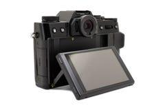 Macchina fotografica moderna Fotografia Stock