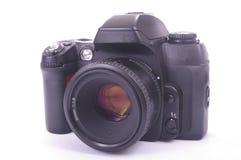 Macchina fotografica moderna di SLR Immagine Stock