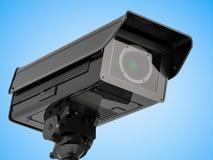 Macchina fotografica o videocamera di sicurezza del CCTV Immagini Stock Libere da Diritti