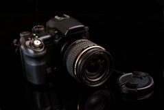 Macchina fotografica profesionalny moderna SLR Immagine Stock Libera da Diritti