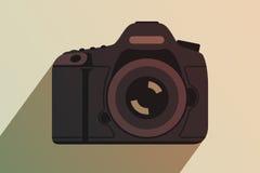 Macchina fotografica professionale moderna Immagini Stock Libere da Diritti
