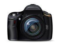 Macchina fotografica reflex digitale moderna Fotografia Stock