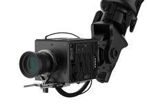 Macchina fotografica robot nera Immagine Stock