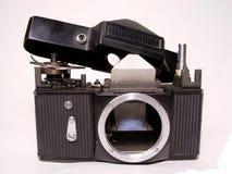 Macchina fotografica smontata Fotografie Stock