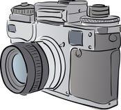 Macchina fotografica stilizzata Fotografia Stock Libera da Diritti