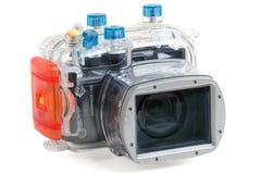 Macchina fotografica subacquea Fotografie Stock