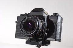 Macchina fotografica vecchia di 35mm Immagini Stock