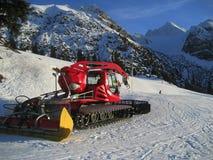 Macchina governare della neve fotografia stock libera da diritti
