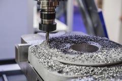 Macchina industriale di lavorazione dei metalli fotografie stock libere da diritti