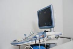 Macchina medica di sistema diagnostico di ultrasuono Immagine Stock Libera da Diritti