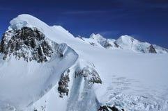 Macchina per colata continua e Pollux di Breithorn Fotografie Stock
